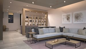 minimalistic Living room by Nova Arquitectura