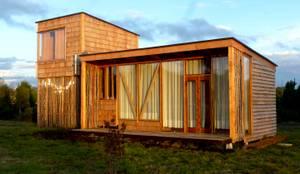 Casas de estilo moderno por PhilippeGameArquitectos