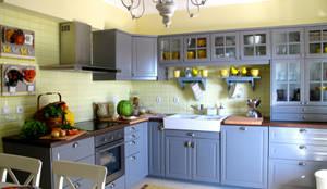 Cuisine de style de stile Rural par Rafaela Fraga Brás Design de Interiores & Homestyling