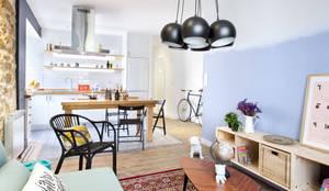 Projekty,  Salon zaprojektowane przez Egue y Seta