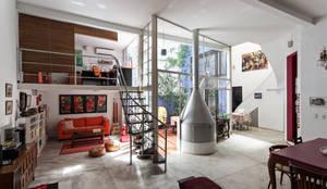 industriale Wohnzimmer von Pop Arq