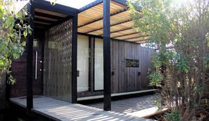 Casas de estilo moderno por ALIWEN arquitectura & construcción sustentable