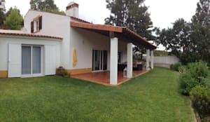 Casas de estilo rústico por Modo Arquitectos Associados