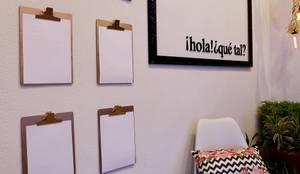 Hall de entrada - Morar mais por menos: Corredores e halls de entrada  por Dotta Studio