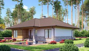 Projekty, skandynawskie Domy zaprojektowane przez Vesco Construction