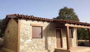 Casa Modular Rústica en Salamanca: Casas de estilo  de MODULAR HOME