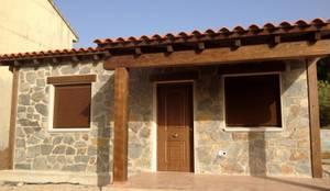 Casas de estilo rústico por MODULAR HOME