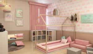 Cuartos infantiles de estilo moderno por Interiorisarte
