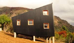 Alpina Mellizas - Estudio forma: Casas de estilo moderno por forma