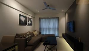 BTO Dawson: modern Living room by Designer House