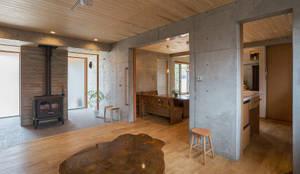 Projekty,  Salon zaprojektowane przez ATELIER N