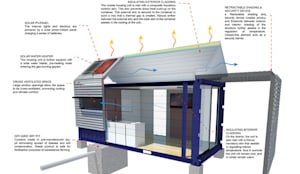 Energy efficient: modern Houses by A4AC Architects