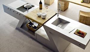 Cucina versione HOME: Cucina in stile in stile Eclettico di ZED EXPERIENCE - indoor & outdoor kitchen