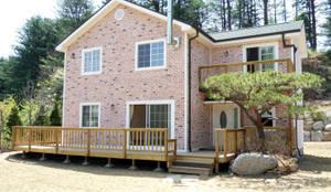Projekty,  Domy zaprojektowane przez Timber house