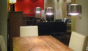 wohnzimmer rote wand - Raumdesign Wohnzimmer