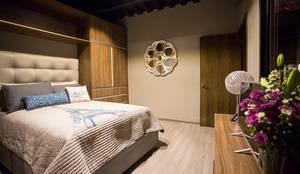 moderne Schlafzimmer von Con Contenedores S.A. de C.V.