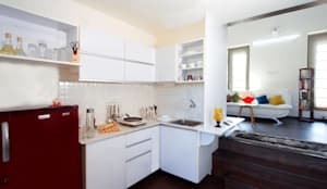 Cocinas de estilo minimalista por Urban Shaastra Design Studio