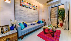 eclectic Living room by Saar Interior Design