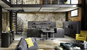 Frame 2 von SCHMIDT Küchen: industriale Küche von Schmidt Küchen