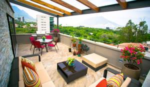 Terraços  por ICAZBALCETA Arquitectura y Diseño