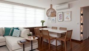 Salas de jantar modernas por Ambienta Arquitetura
