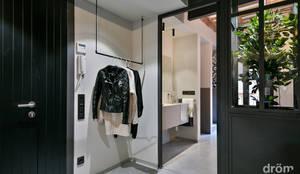 industrial Corridor, hallway & stairs by Dröm Living