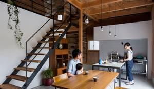 ishibe house: ALTS DESIGN OFFICEが手掛けたダイニングです。