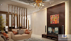 Living room by Eternity Designers