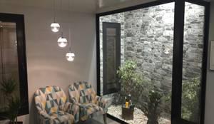 Salas de estar minimalistas por KITUR