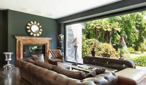 rustikale Wohnzimmer von Gracious Luxury Interiors
