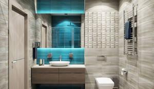 Lagoon: Ванные комнаты в . Автор – MAGENTLE,