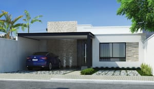 Projekty, nowoczesne Domy zaprojektowane przez Mariana Domingues Arquitetura e Interiores