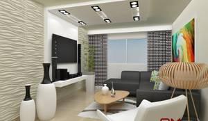 غرفة المعيشة تنفيذ om-a arquitectura y diseño