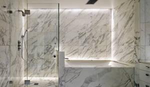 Richman Duplex Apartment, New York: modern Bathroom by Lilian H. Weinreich Architects
