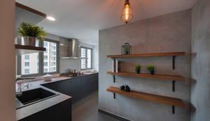 eclectische Keuken door Eightytwo Pte Ltd