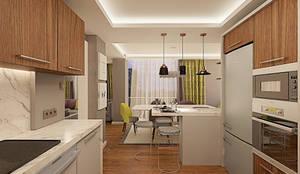 Ofis 352 Mimarlık Hizmetleri – ORHAN-OLIVIA EVİ: modern tarz Mutfak