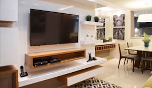 Salas multimedia de estilo moderno de Only Design de Interiores