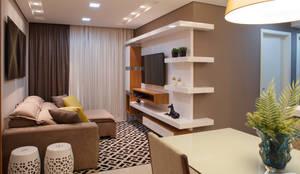 Salas de entretenimiento de estilo moderno por Only Design de Interiores