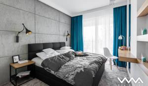 غرفة نوم تنفيذ WMA Design