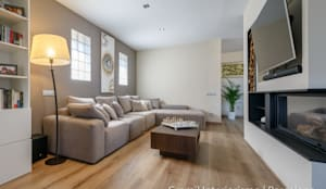 Vivienda en Cesalpina: Salones de estilo moderno de Gramil Interiorismo II - Decoradores y diseñadores de interiores
