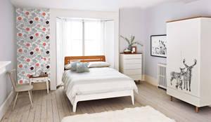 Scandinavian Bedroom: scandinavian Bedroom by Pixers