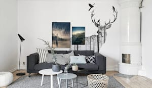 scandinavian Living room by Pixers