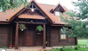 Case in stile In stile Country di Nowak i Nowak Architekci
