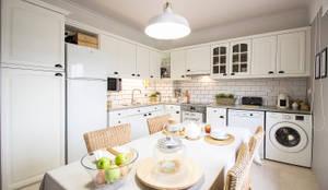 Cocinas de estilo escandinavo por Homestories