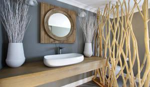 rustikale Badezimmer von JSD Interiors
