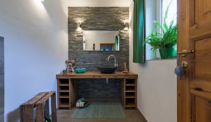Baños de estilo rural por Boddenberg