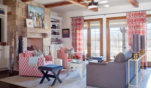 21st CenturyTraditional: classic Living room by Andrea Schumacher Interiors