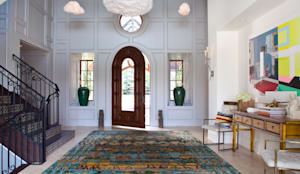 Buell Mansion Remix: classic Corridor, hallway & stairs by Andrea Schumacher Interiors