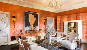 غرفة الملابس تنفيذ Andrea Schumacher Interiors