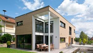 ökologische Häuser filigrane architektur trifft ökologische und modernste technik